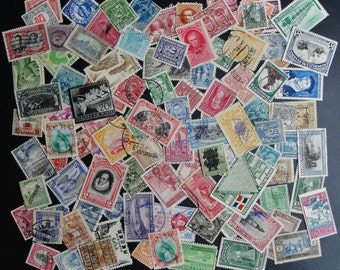 100 Pre 1950 Worldwide Mixed Postage Stamps Lot/Packet Mint and Used (f)