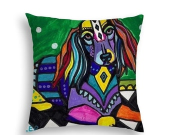 art pillow etsy
