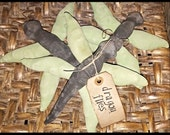 Primitive Spring Time Dragon Fly Ornies-Bowl Fillers