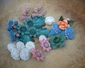 Large Collection of Vintage Curtain Tie Backs