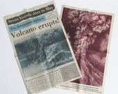 Set of Two Newspaper Special Editions from May, 1980 Featuring Mount St. Helens Eruption