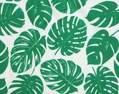 Green and White Tropical ...