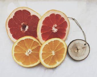 Citrus Scent Diffuser / Lemon Lime Orange Grapefruit / Wood Diffuser/ Air Freshener / Car Freshener / Essential Oil Diffuser / Wedding Favor