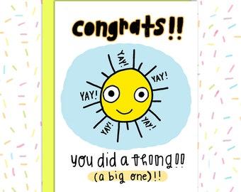 Congrats Pregnancy Card, New Baby Card, Congratulations Card, Wedding Card, Baby Shower Card