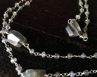Labradorite Chain - Artistry to Alchemy