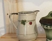 French Country Graniteware Enamelware Clover