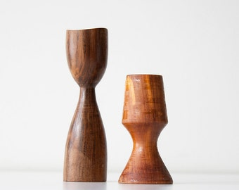 Vintage Danish Modern Style Candle Holders