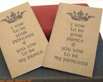 Set of 2 Vow  Notebooks / Journals