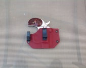 Blood Red IWB Kydex Retention Holster