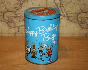 Vintage Looney Tune Tin - Brach's Candy - item #2405