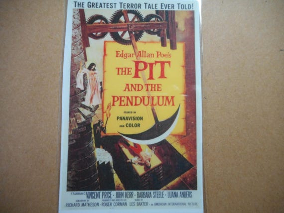 Magnet- The Pit and the Pendulum Edgar Allen Poe