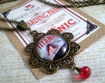 Titanic Necklace, Titanic Jewelry, Gift for Her, Handmade Jewelry