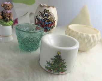 Small Vintage Candle Holder, Cup, Thimble, Souvenir for Las Vegas Vintage Smalls Lot
