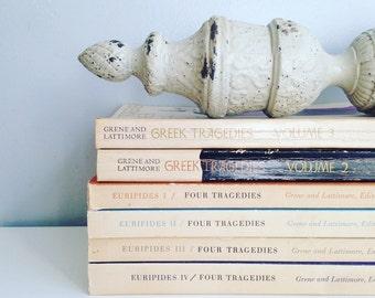 Vintage Greek Tragedy Paperback Books - Eurapides - Tragedies - Classic Literature