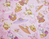Garden Goodies Loralie Harris 2006 Out of Print New, Unused Quilting Cotton - 3.5 Yards