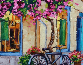 Money cant buy happiness but a gorgeous Oil Painting will, Original Oil on Canvas by Rebecca Beal