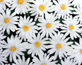 Daisy Fabric  Daises Cotton Material , Timeless Treasures Sewing Supplies Quilting Supplies