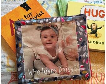Who Loves Baby? Custom Fabric Book