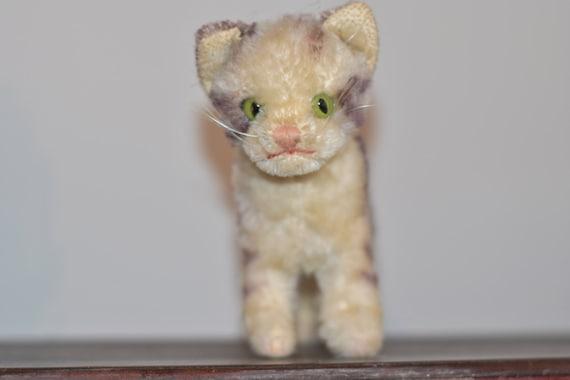 Steiff tabby cat