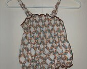 1960 Vintage Girl Toddler Bathing Suit
