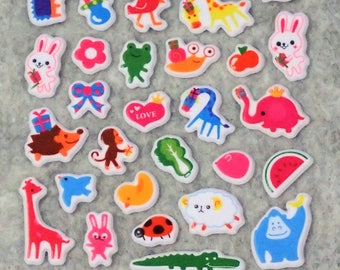 Mixed Cute Animals Stickers