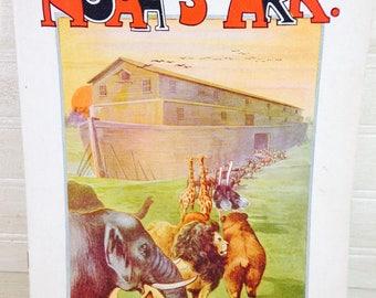 Vintage Noahs Ark Picture Book