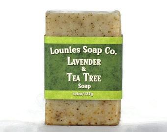 Lavender & Tea Tree Soap