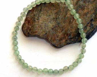 Green Aventurine Stretch Bracelet Mini Adjustable earthegy #1180