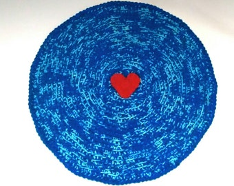 SALE!****Cat Dog Pet Crochet Round Blanket Mat Bed