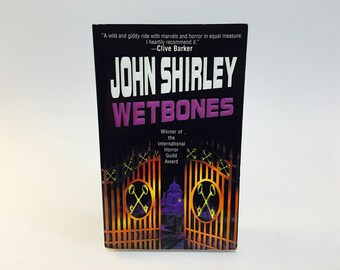 Vintage Horror Book Wetbones by John Shirley 1999 Paperback