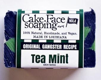 Peppermint soap tea tree soap handcrafted soap bar salt soap charcoal soap natural vegan soap bar green soap gift soap mint soap natural