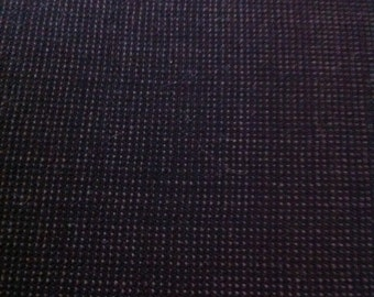 Dark Blue 100% Wool Suiting Fabric/ Sewing Craft Supplies / Suiting Fabric / Suitable for Jackets / Slacks / Suits