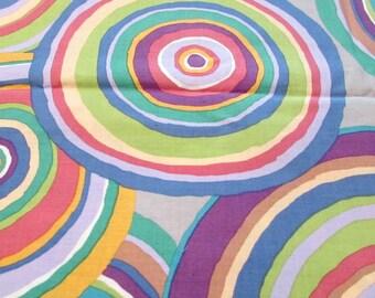 Rowan Fabric Targets Katie Fassett #GP67 Large Colorful Circles 1 yard