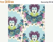 Black Friday Sale Tula Pink, Selfie in Sky, Elizabeth, 16th Century, Fabric by the Yard, One Yard
