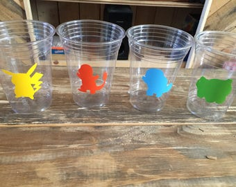 Pokémon inspired 20 cups... Great for birthday parties and celebrations!