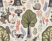 Enchanted Forest on Cream  185.1 - ENCHANTED FOREST - Lewis and Irene - By the Yard