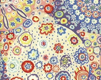 Millefiore in Pastel  GP92 - Kaffe Fassett for Free Spirit Fabrics - By the Yard