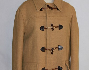 Pendleton  Lobo Camel Color Wool Pea Coat Size  40