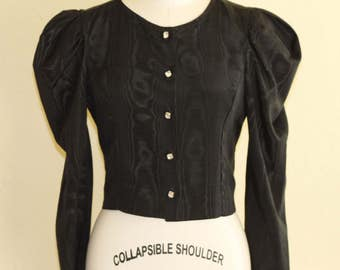 Victorian  clothing Crop Jacket Bust 36