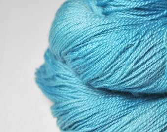 Melting blue glacier - Merino/BabyCamel Lace Yarn - LIMITED EDITION