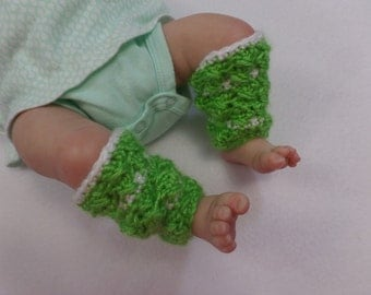 Crochet Baby Leg Warmers, Socks, Leggings, Leg Covering, Infant