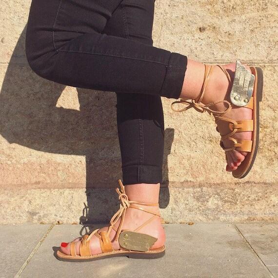 Greek Sandals with wings , winged sandals winged gladiators sandales sandales ailées