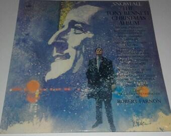1968 - The Tony Bennett Christmas Album - LP Vinyl Record Album - Christmas Music /Songs / White Christmas / Santa Claus / Winter Wonderland