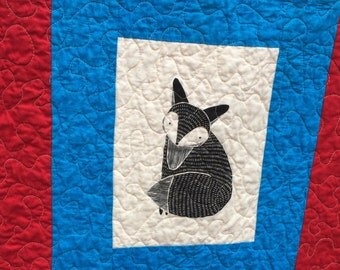 Natural  Critters Quilt