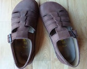 WOMEN'S BiRKENSTOCKS. Brown Leather Mary Jane Birks in Amazing Shape! Size 39 or 8.5 US sizing
