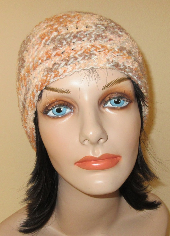 Brown Rust Beanie, Cold Weather Accessory, Snow Playing, Ice Skating, Hockey Mom, Brown Snow Hat, Rust Snow Hat