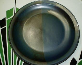 "Iron Mountain Stoneware Blue Ridge 12"" Chop Plate"