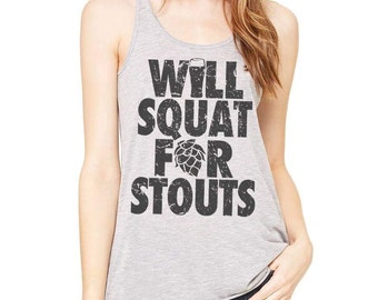 Will Squat For Stouts, Will Squat For Beer, Weight Lifting, Crossfitter Shirt, Gym Shirt, Lifting, Squats, Workout Motivation, Fitness