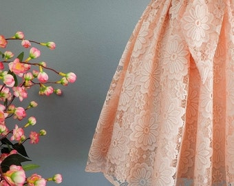 Christmas SALE A Party V Lolita Backless Dress Luxury Peach 3D Lace Bow Back Dress Prom Party Cocktail Dress Bow Lace Wedding Bridesmaid Dre