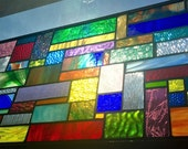 Custom Stained Glass Panel for Tiffany